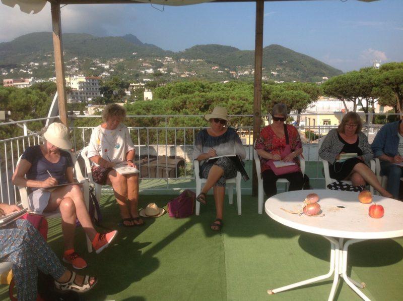 Malekursus-Ischia-Italien-med-Pia-Fonnesbech-1