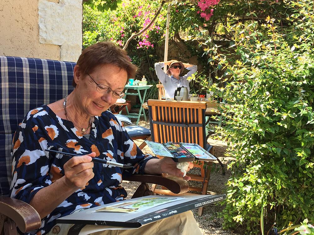 Akvarelkursus Kreta Kreativt Netværk (8)