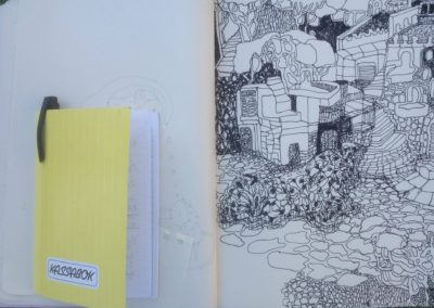 Malekursus-Ischia-Italien-elevarbejde-10