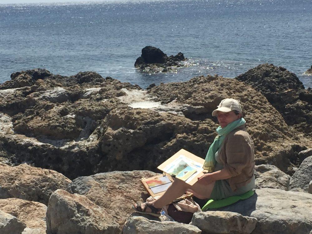 Akvarelkursus Kreta 03