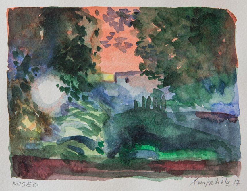 Akvarelkursus Rom Anita Viola Nielsen (3)