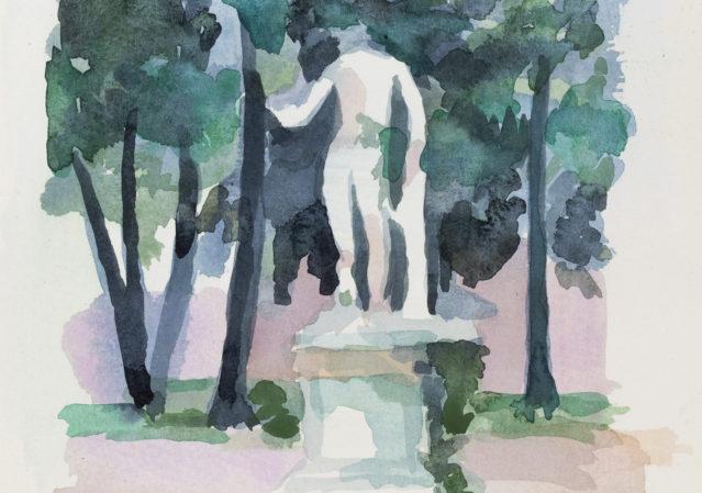 Akvarelkursus Rom Anita Viola Nielsen (8)
