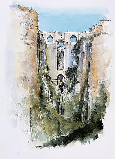 Akvarelkursus Ronda (6)