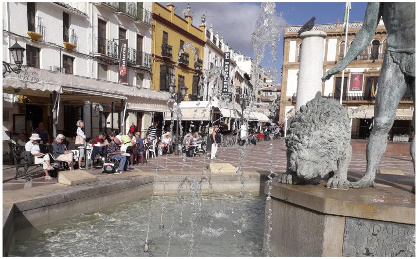 Akvarelkursus Ronda Spanien (1)