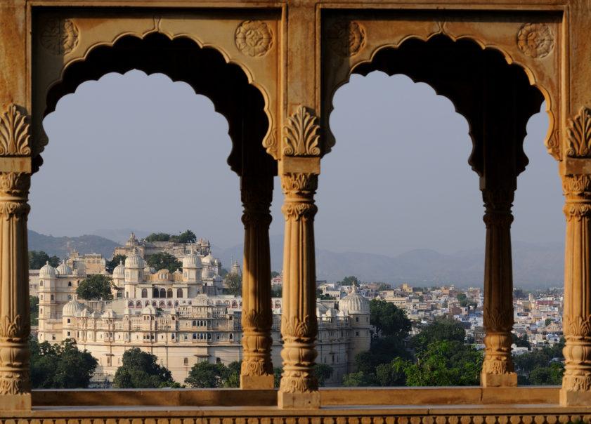 Malerejse Indien udaipur udsigt