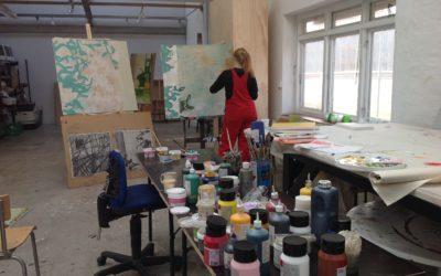 Malekursus København Sommerworkshop uge 5 Mia-Nelle