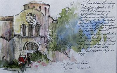 Akvarelkursus Cypern
