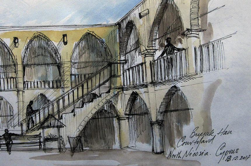 Akvarelkursus Cypern (6)