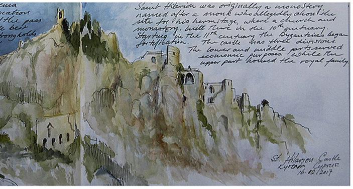 Akvarelkursus Cypern (7)