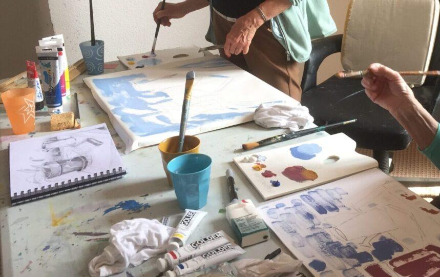 Malekursus Matisses Hus Vence Frankrig (2)