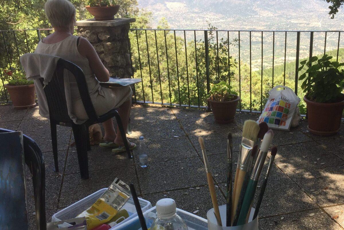 Malekursus Sardinien Kunstkursus (1)