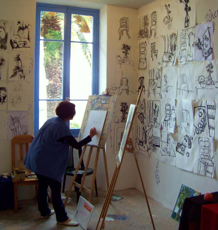 Malekursus Vence Frankrig Kreativt Netværk (10)