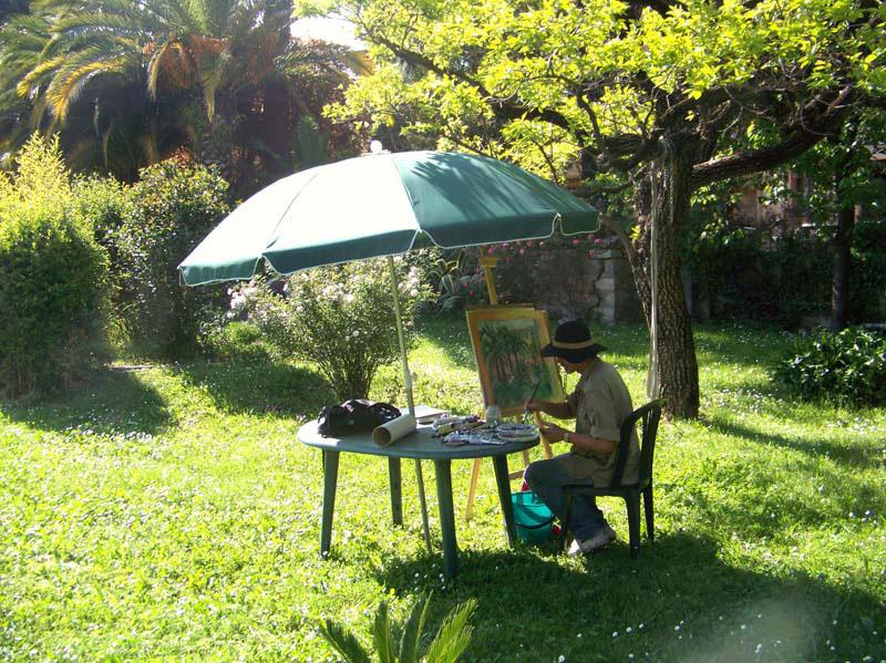 Malekursus Vence Frankrig Kreativt Netværk (5)