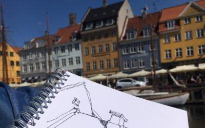 Byens rum og huse – Tegning og Akvarel i København Hanne Ravn Hermansen